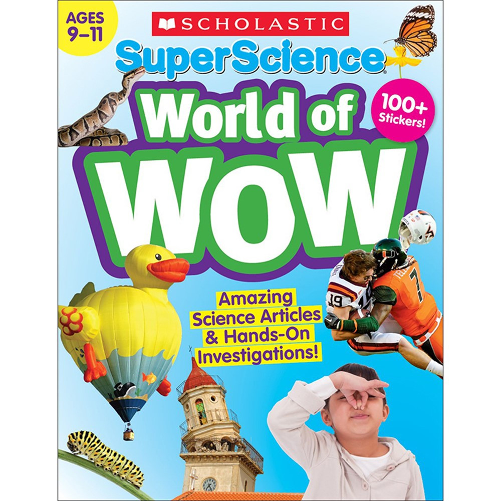 Super Science World of WOW Gr 9-11 - SC-832986 | Scholastic Teaching Resources | Activity Books & Kits