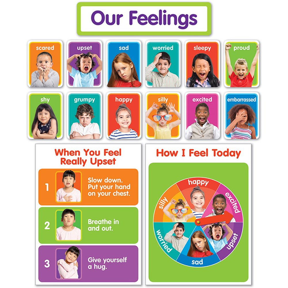 SC-834481 - Our Feelings Bulletin Board St in Classroom Theme