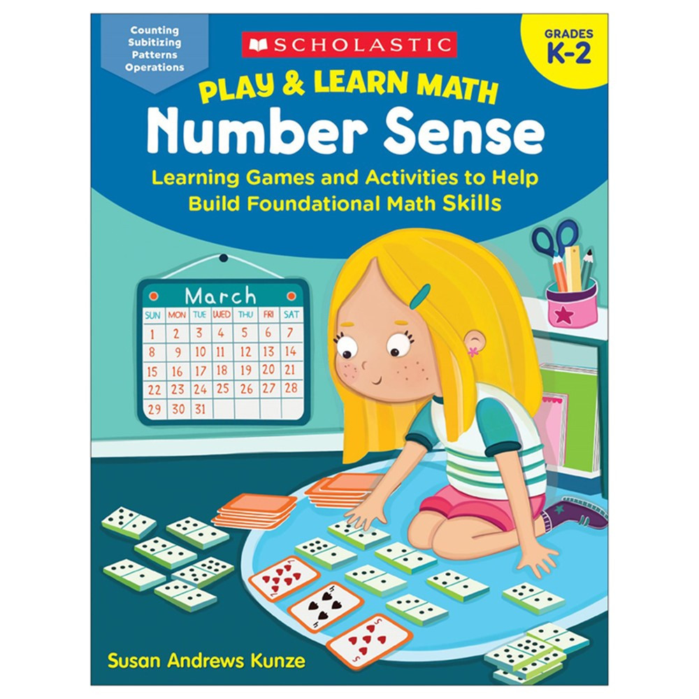 Play & Learn Math: Number Sense - SC-864128 | Scholastic Teaching Resources | Numeration