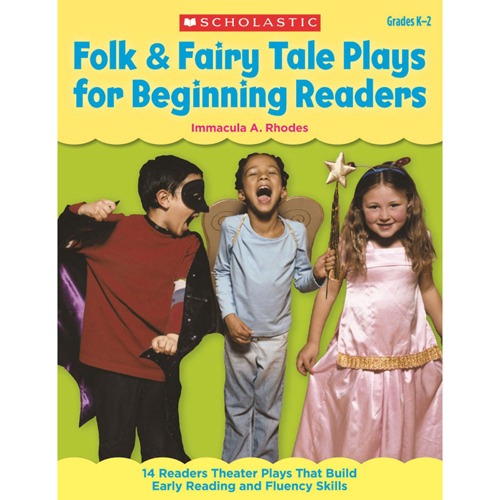 SC-9780545209281 - Folk & Fairy Tale Plays For Beginning Readers in Poetry