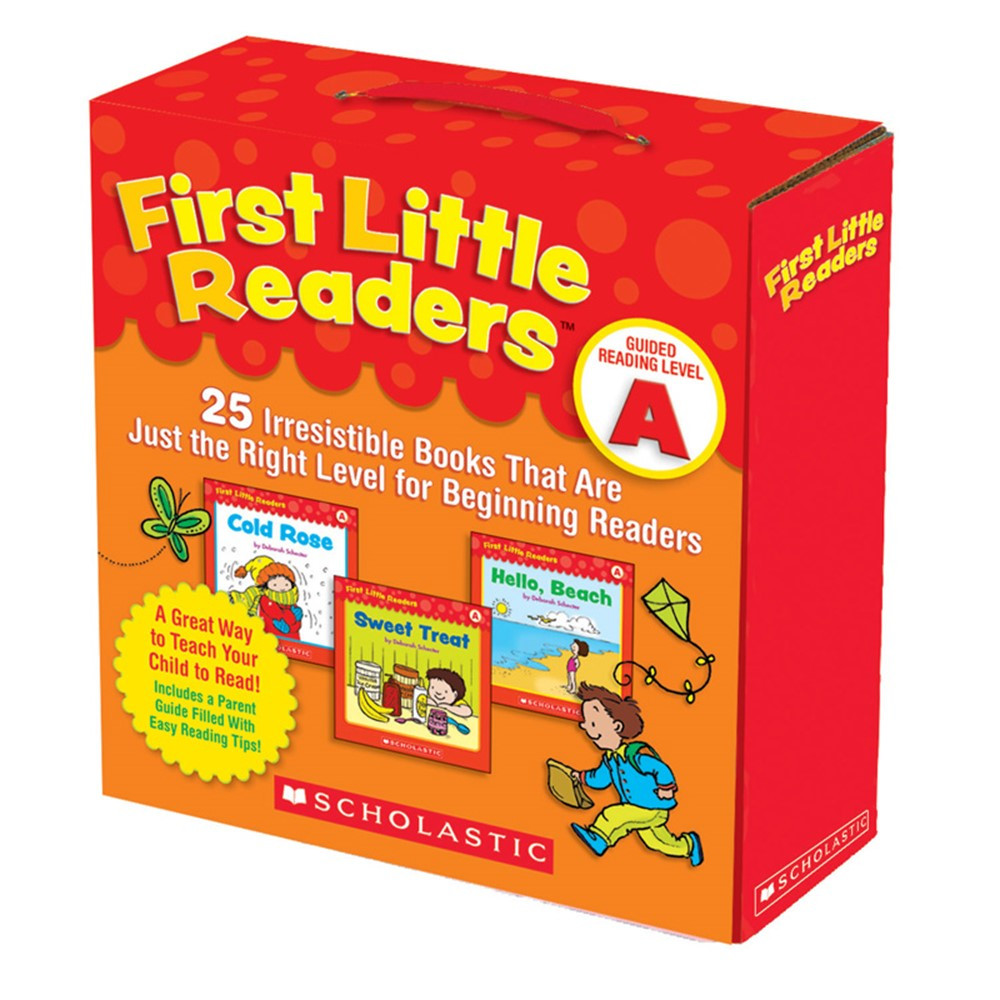 SC-9780545231497 - First Little Readers Parent Pack Guided Reading Level A in Learn To Read Readers