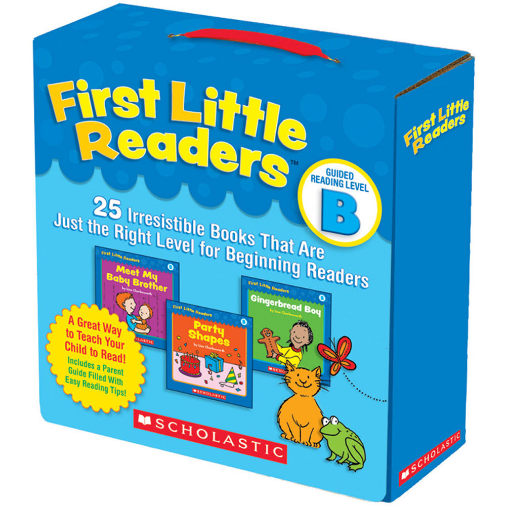 SC-9780545231503 - First Little Readers Parent Pack Guided Reading Level B in Learn To Read Readers