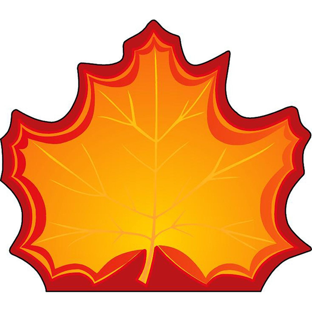 SE-120 - Notepad Large Maple Leaf in Note Pads