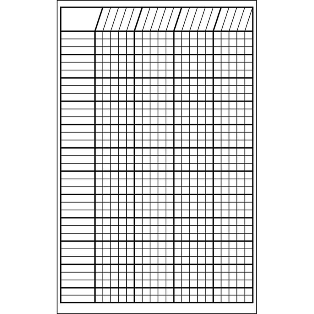 SE-3346 - Incentive Chart Small White 14 X 22 in Incentive Charts