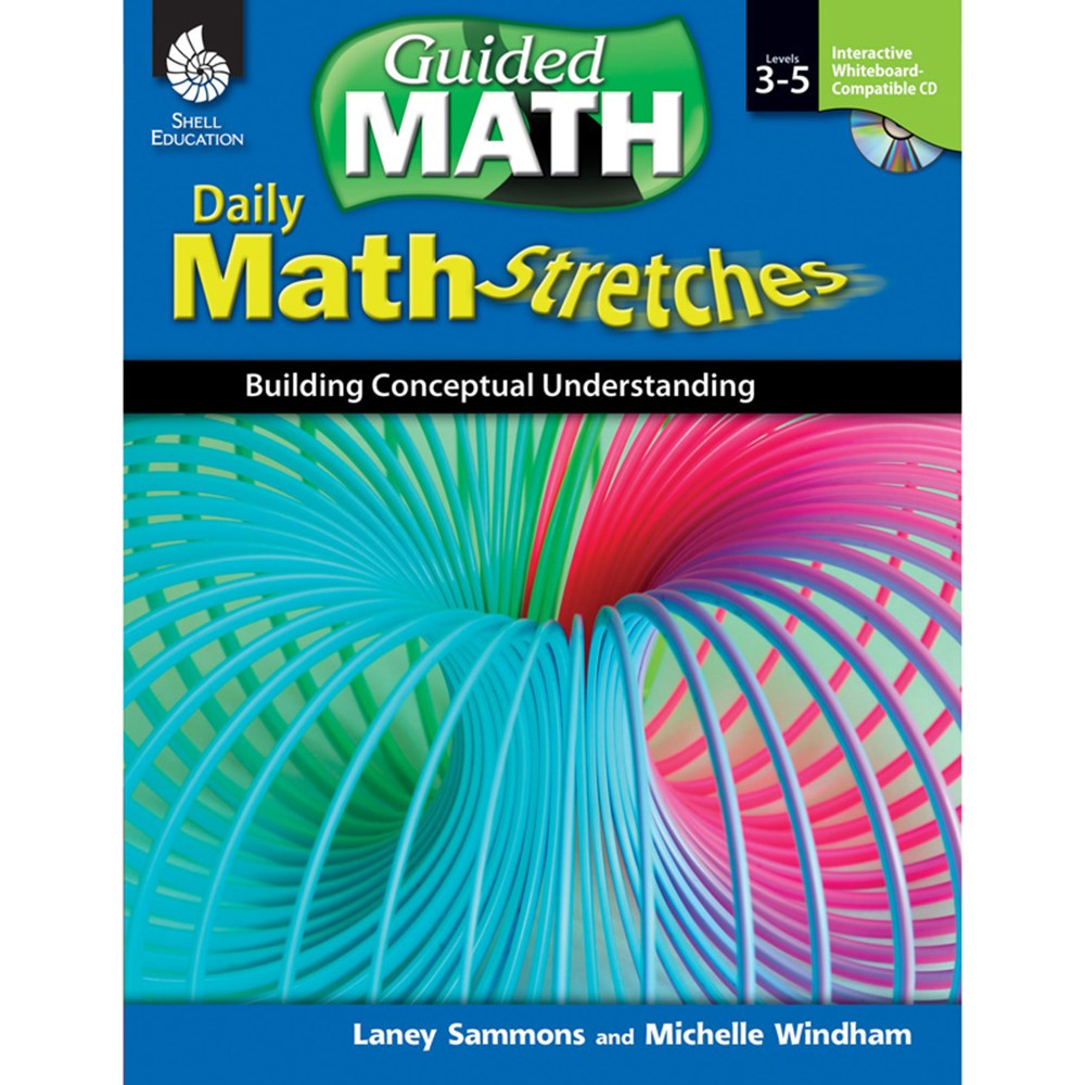SEP50786 - Daily Math Stretches Gr 3-5 in Activity Books