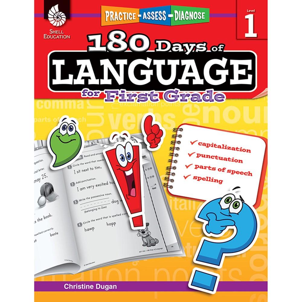 SEP51166 - 180 Days Of Language Gr 1 in Language Skills