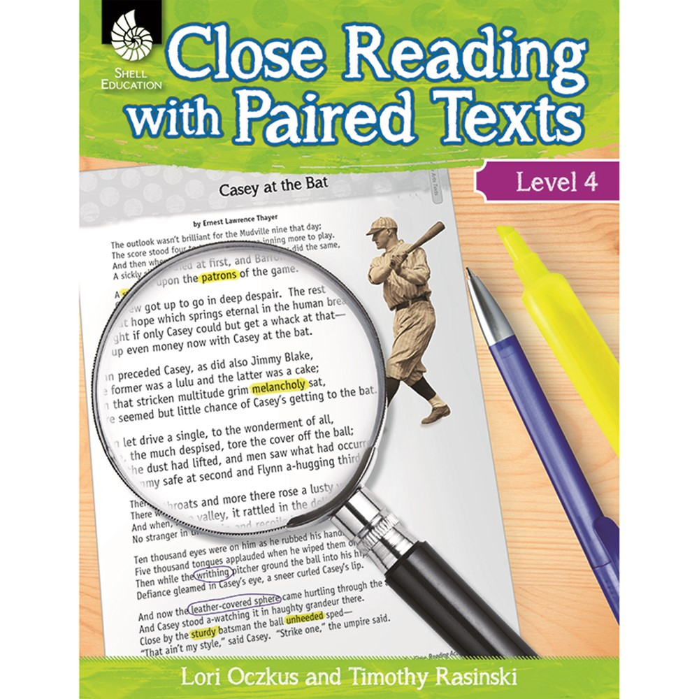 SEP51360 - Level 4 Close Reading With Paired Texts in Comprehension