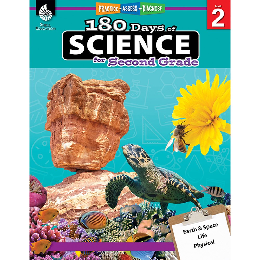 SEP51408 - 180 Days Of Science Grade 2 in Activity Books & Kits