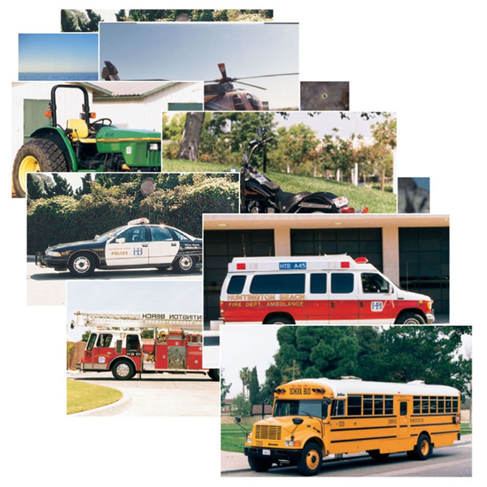 SLM159 - Vehicles 14 Poster Cards in Miscellaneous