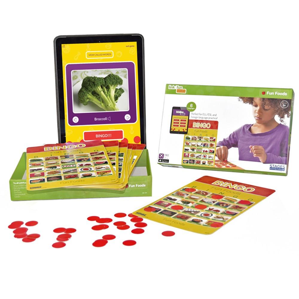 SLM203 - Fun Foods Bingo in Bingo