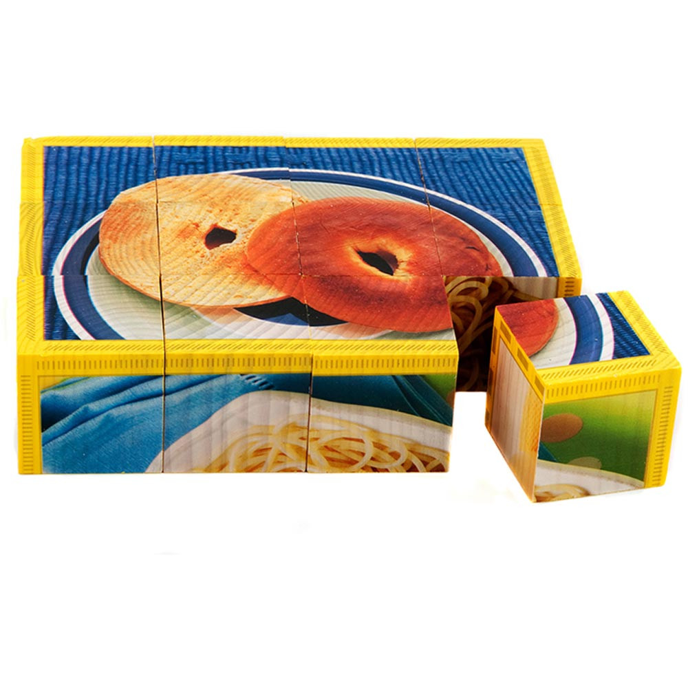 SLM405 - Grains Cube Puzzle in Health & Nutrition