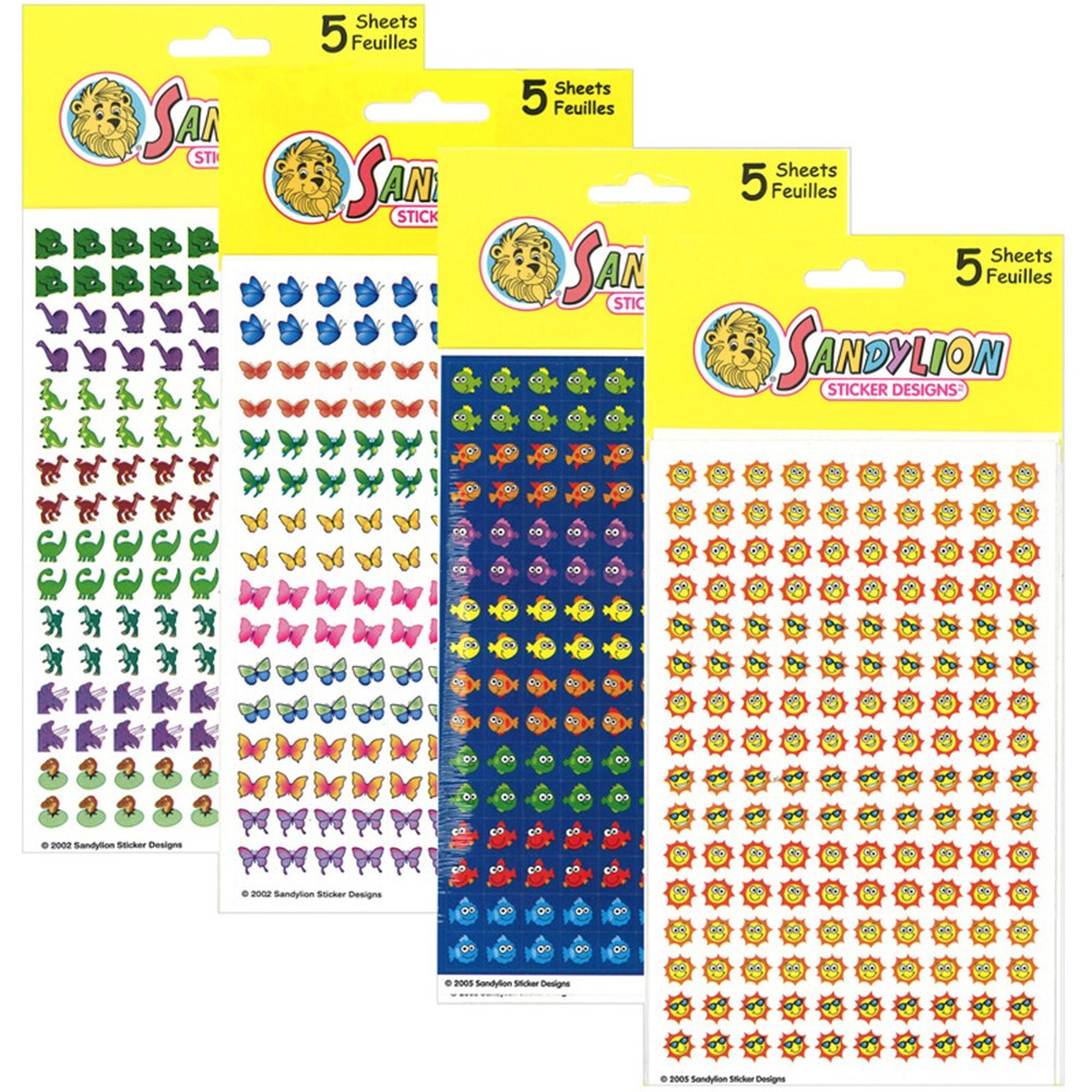 SLSTEPGCC - Chart Sticker Variety Pack C 3200 Stickers in Stickers