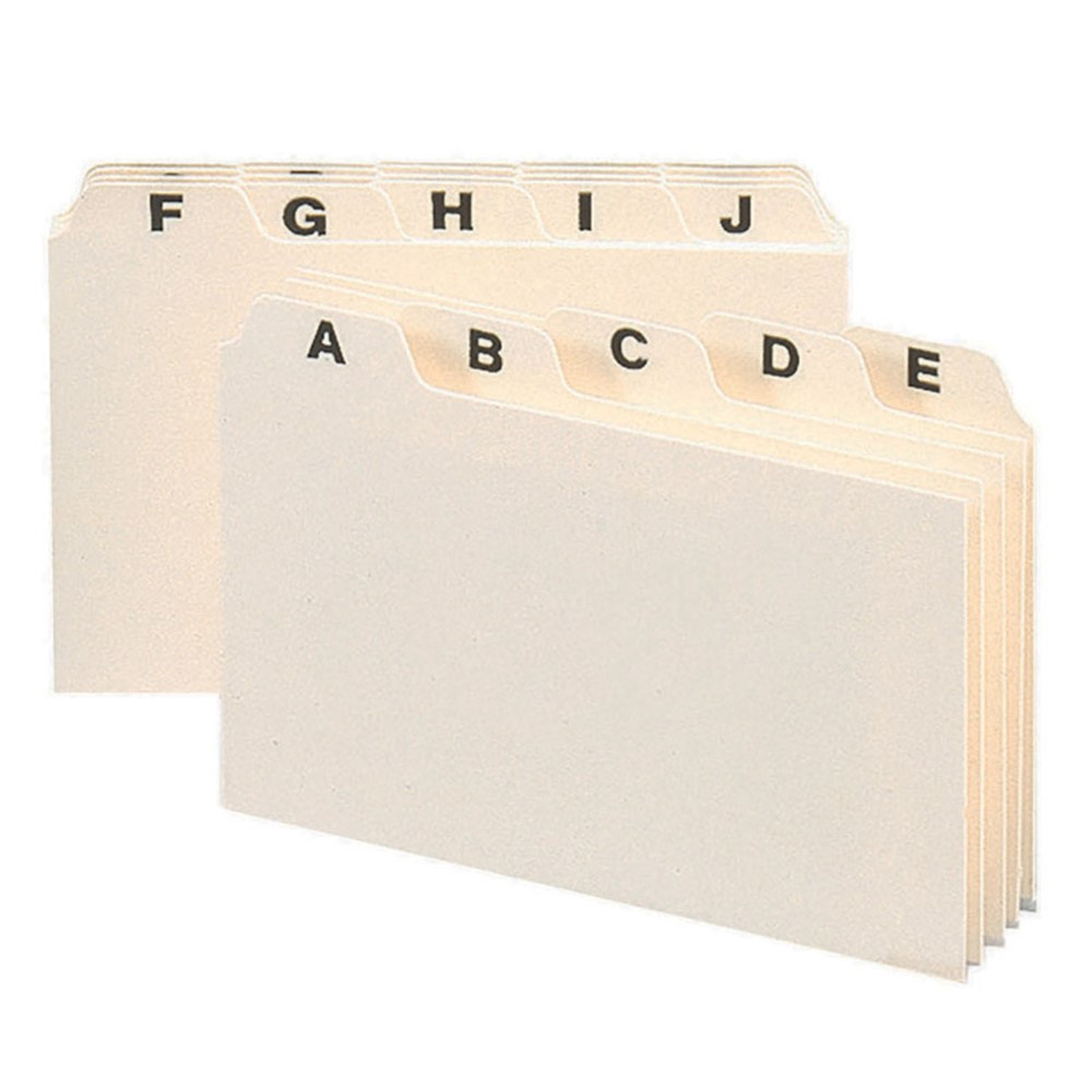 SMD56076 - Smead A-Z Index Card Guides 4 X 6 in Index Cards