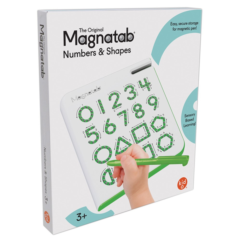 0 to 9 & Shapes Magnatab - SME10606   Playmonster Llc (Patch)   Numeration