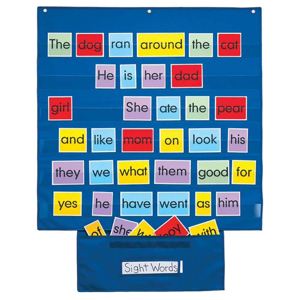 SME742 - Mid Size Wall Pocket Chart in Pocket Charts