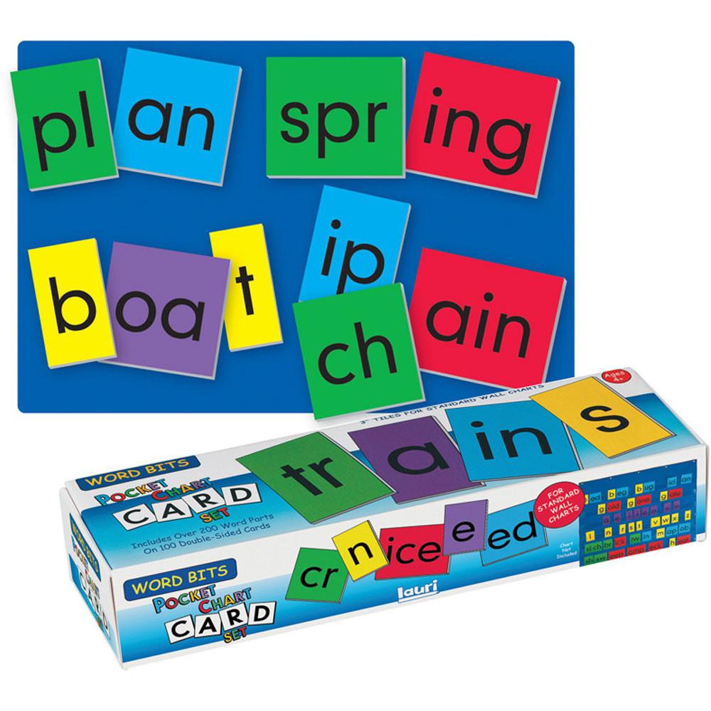 SME754 - Word Bits - Pocket Chart Card Set in Pocket Charts