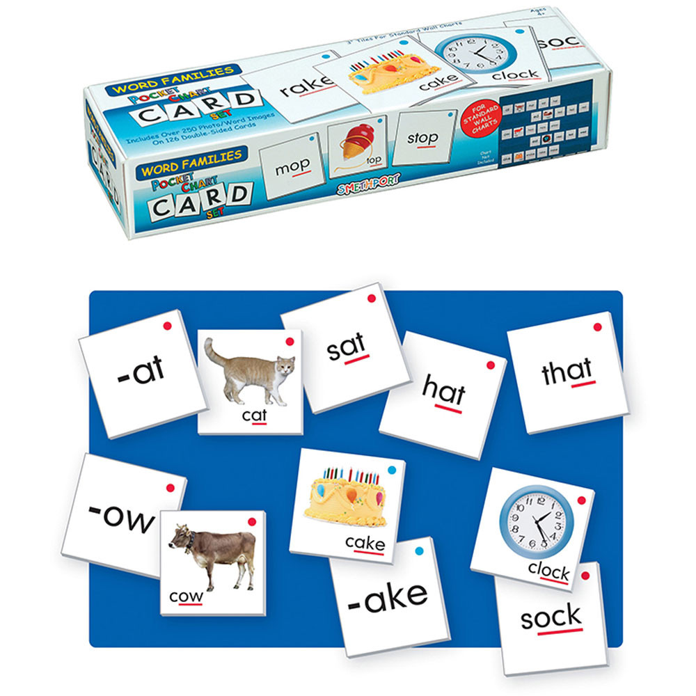 SME757 - Word Families Card Set in Word Skills