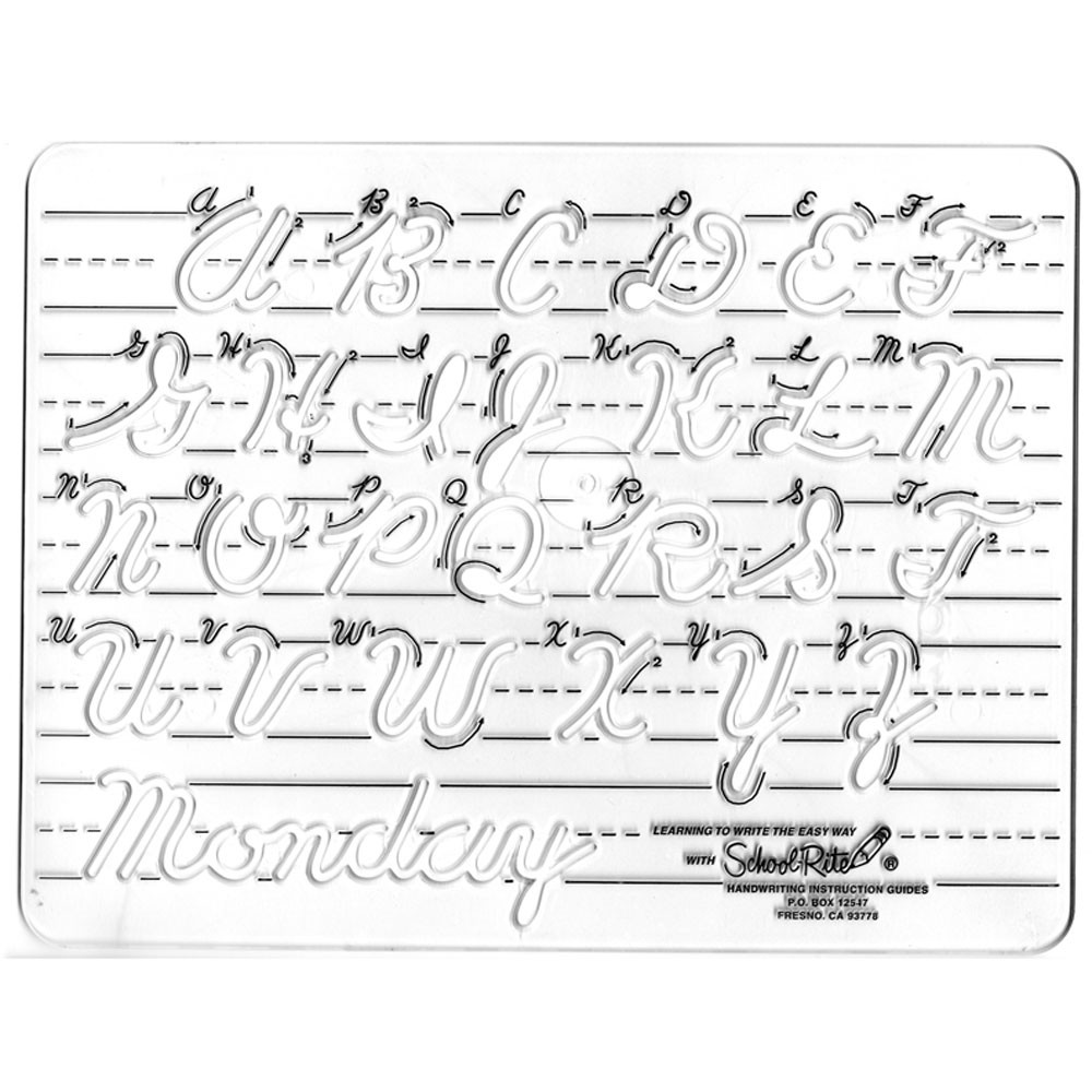 SR-7681 - Transition To Cursive Uppercase in Handwriting Skills