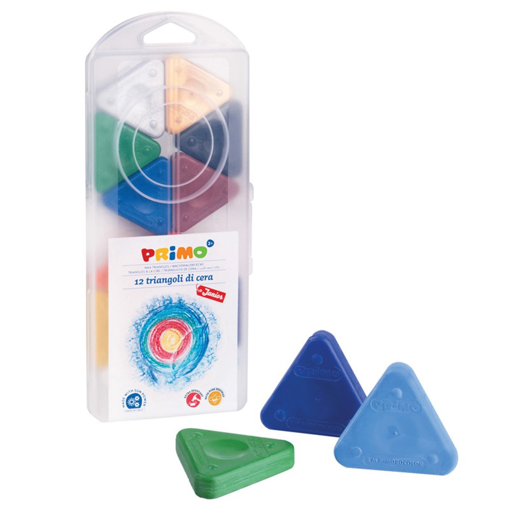 STW0731TR - Primo Triangle Crayons in Crayons