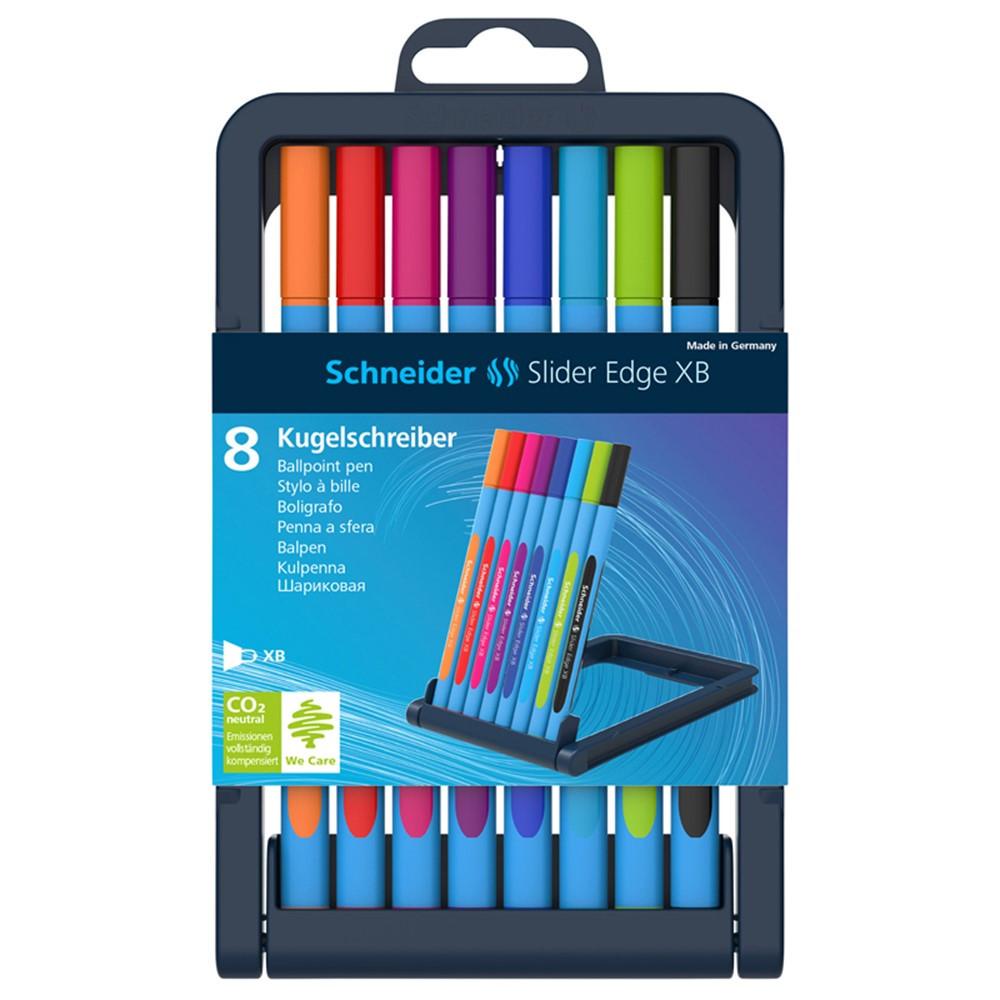 schneider slider edge xb  Schneider 8 Color Assortment Slider Edge Xb Ballpoint Pen ...