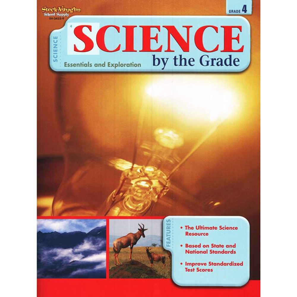SV-34329 - Science By The Grade Gr 4 in Activity Books & Kits