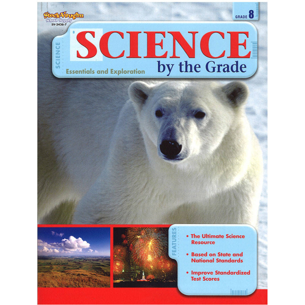 SV-34367 - Science By The Grade Gr 8 in Activity Books & Kits