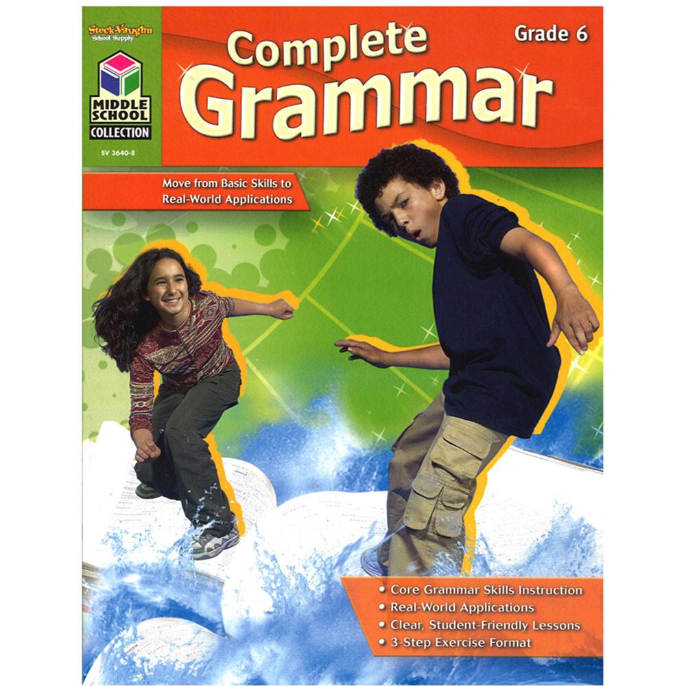 SV-36408 - Complete Grammar Gr 6 in Grammar Skills