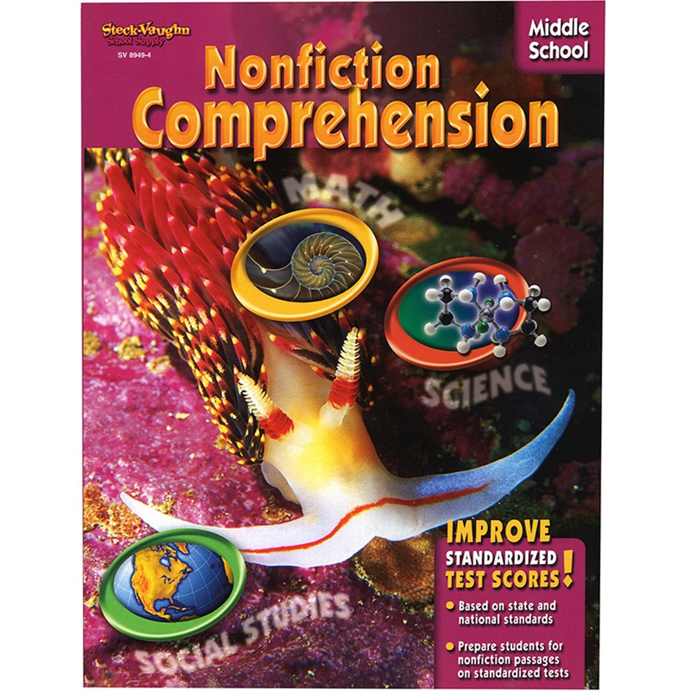 SV-89494 - Nonfiction Comprehension Middle School in Comprehension