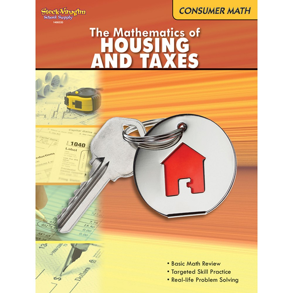 SV-9780547625645 - The Mathematics Of Housing And Taxes Gr 6 & Up in Money
