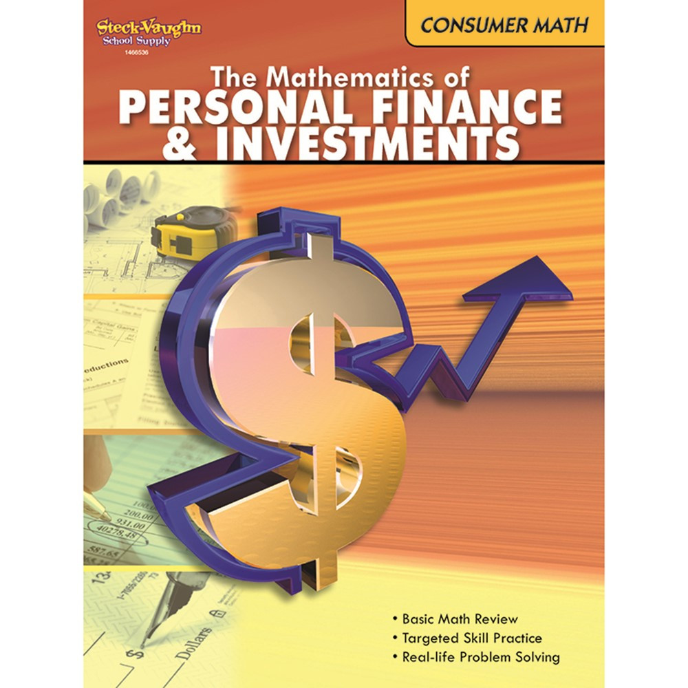 SV-9780547625683 - The Mathematics Of Personal Finance And Investments Gr 6 & Up in Money
