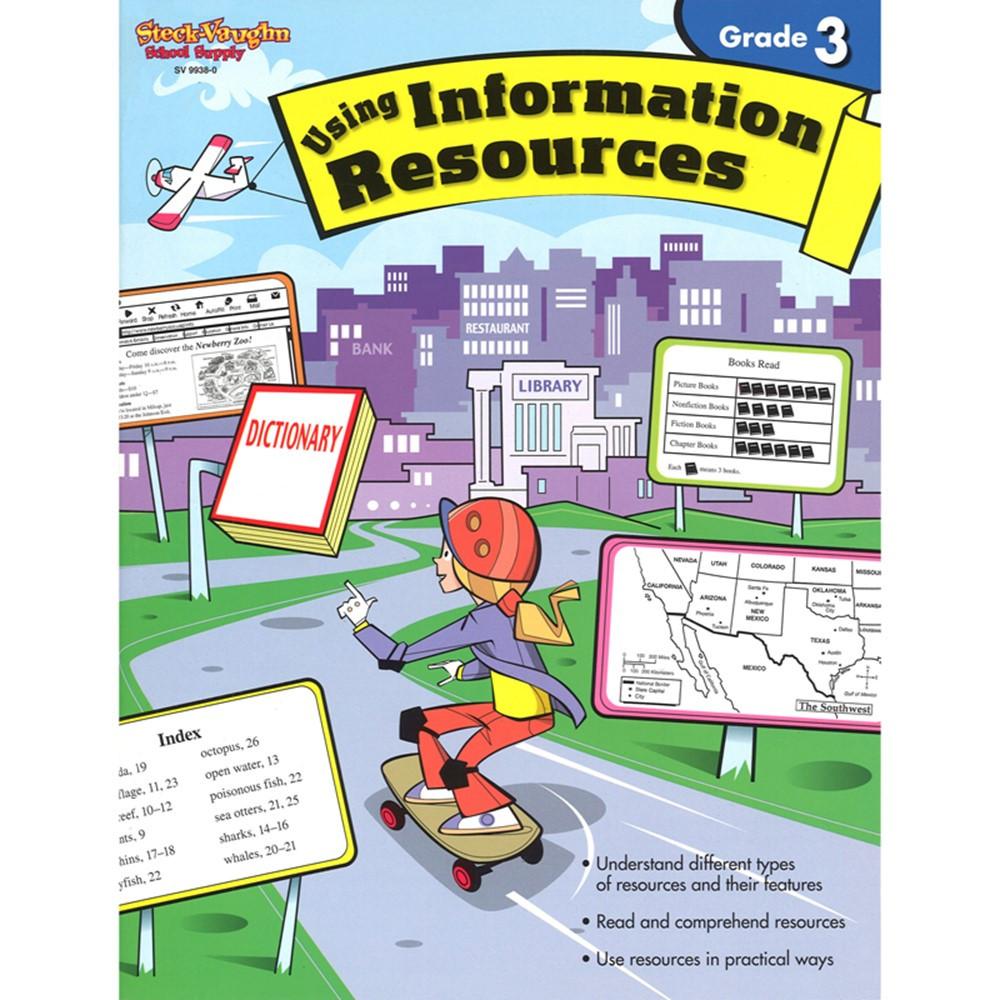 SV-99380 - Using Information Resources Gr 3 in Comprehension
