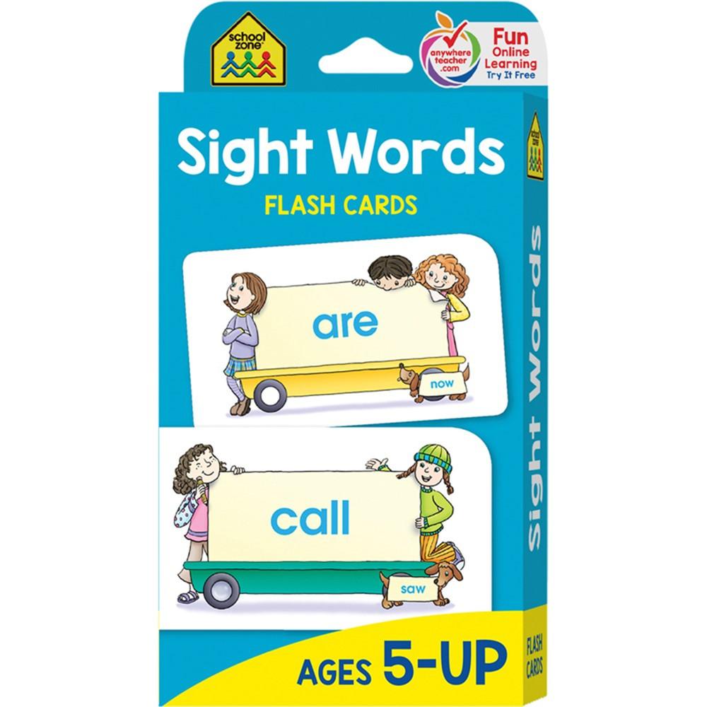 SZP04002 - Beginning Sight Words Flash Cards in Sight Words
