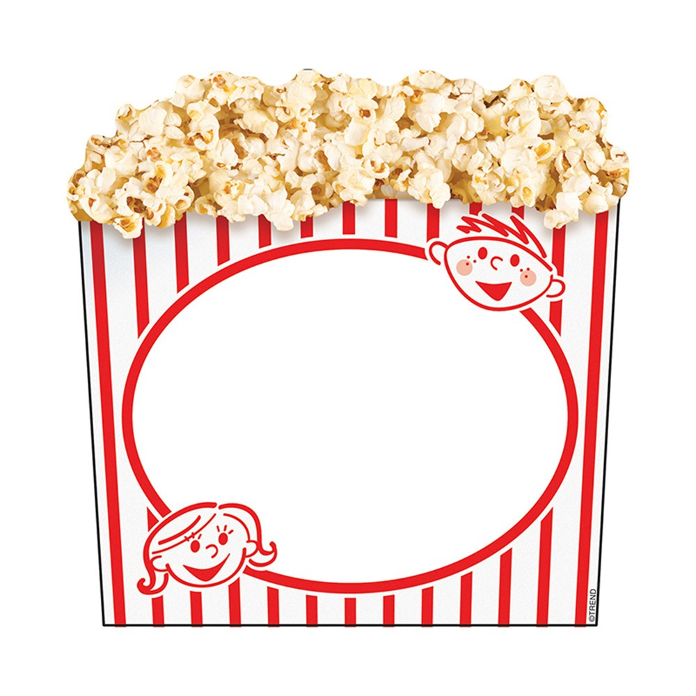 T-10073 - Classic Accents Popcorn Box Discovery in Accents