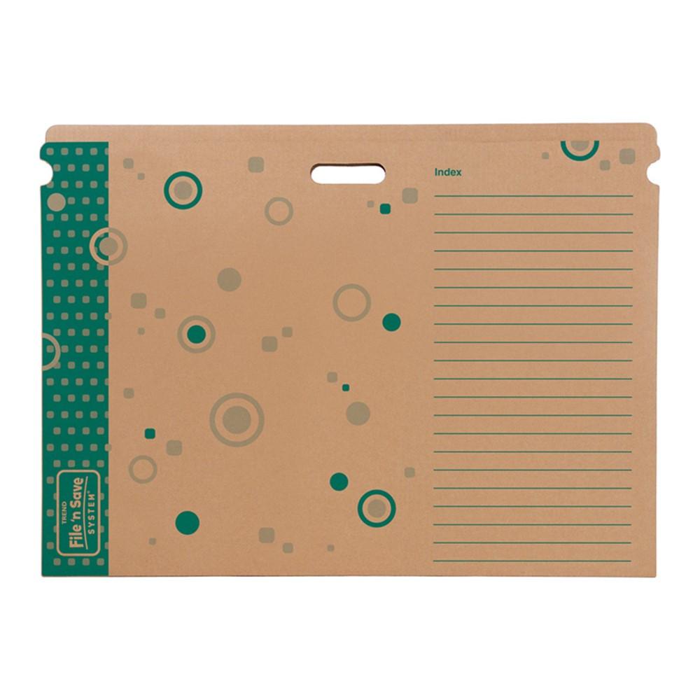 T-1023 - File N Save Sturdy Folder Chart 31 X 23 X 1/2 in Storage