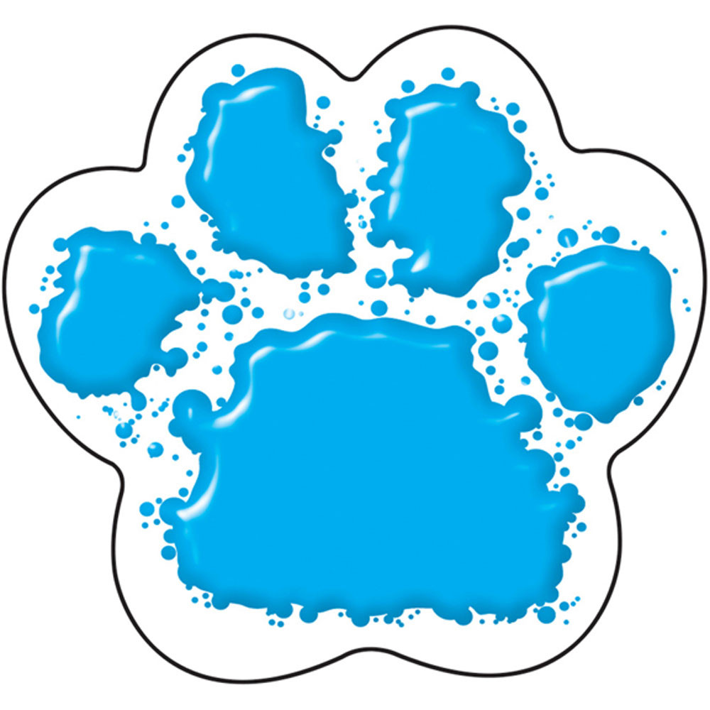 T-10583 - Paw Print Mini Accents in Accents