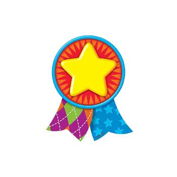 T-10586 - Star Medal Mini Accents in Accents
