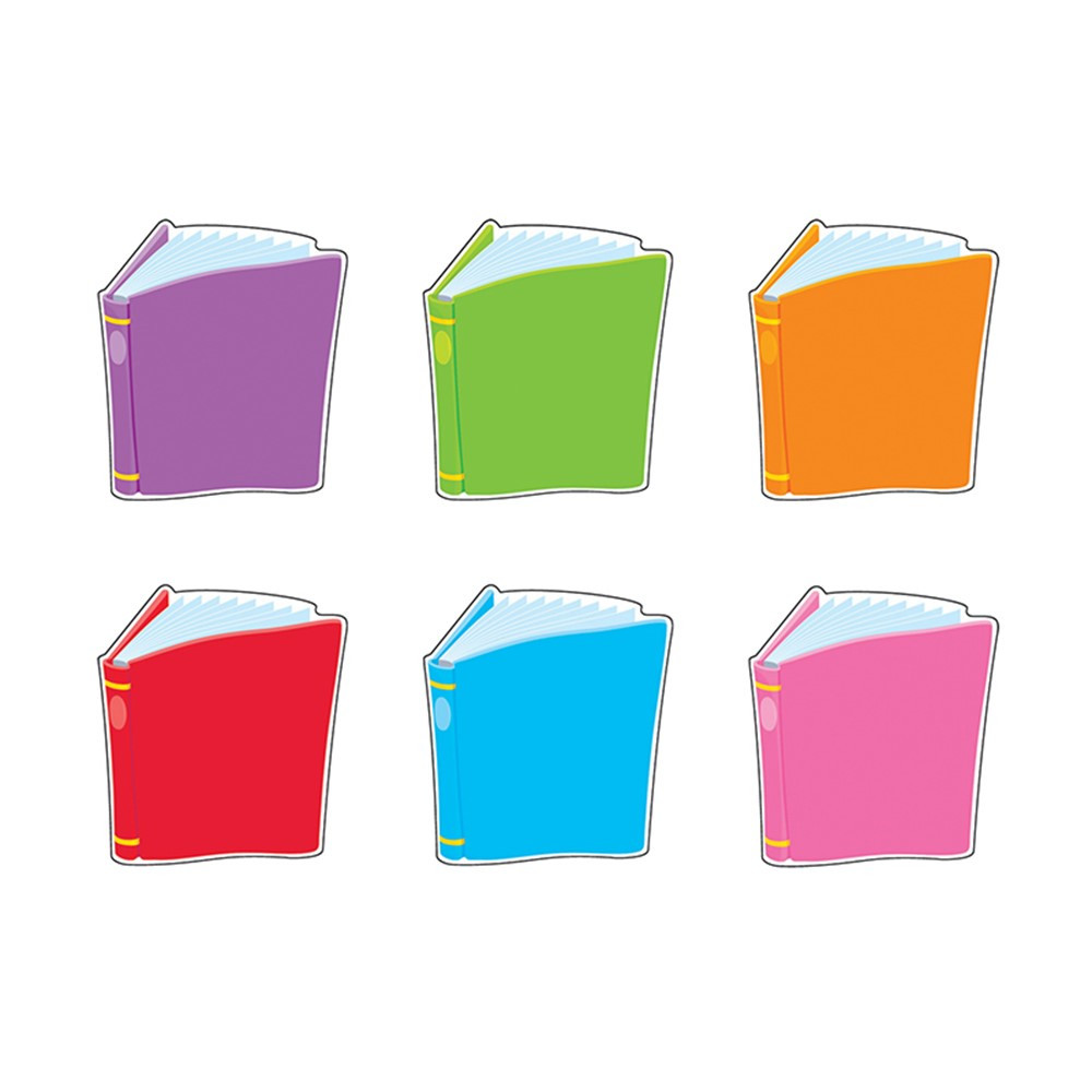 T-10821 - Classic Accents Mini Bright Books Variety Pk in Accents