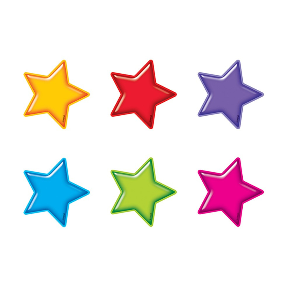 T-10843 - Gumdrop Stars Accents Mini Size Variety Pack in Accents