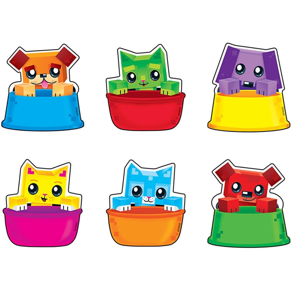 T-10867 - Blockstars Buddies Mini Accents Variety Pack in Accents