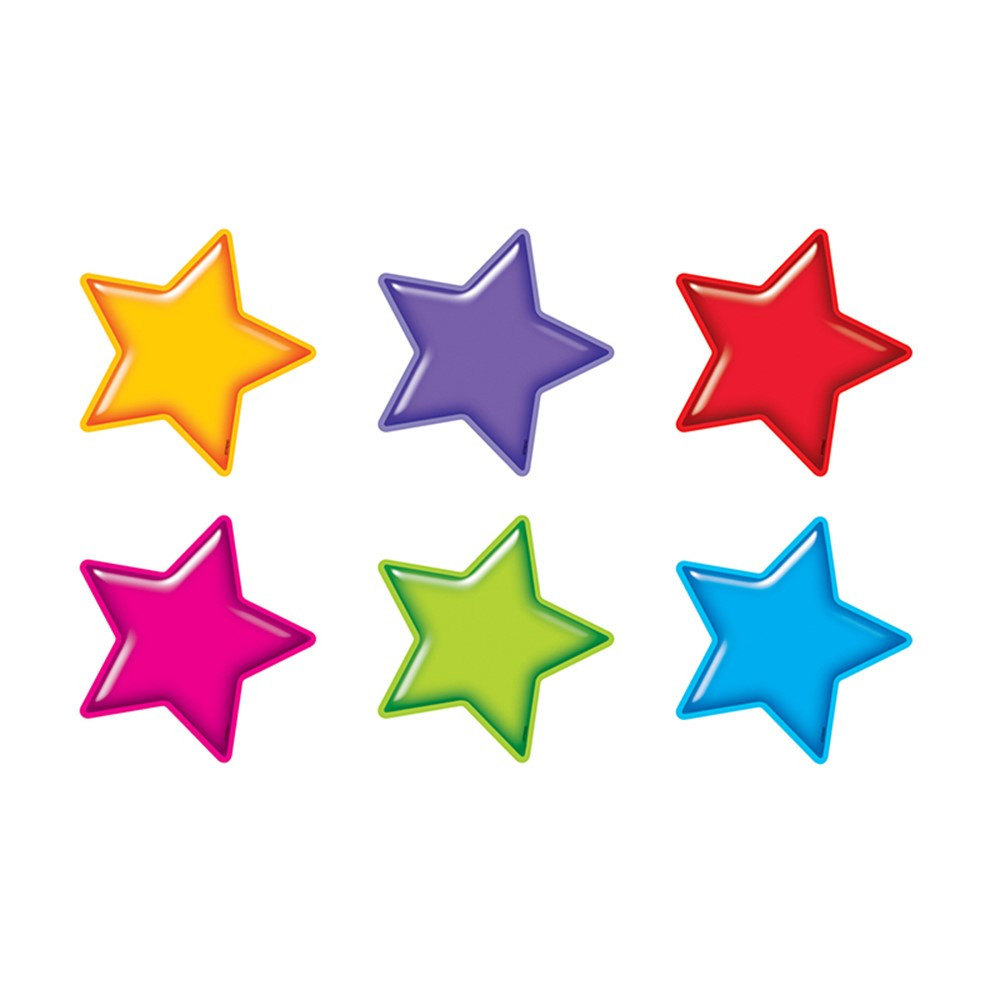 T-10968 - Gumdrop Stars Accents Standard Size Variety Pack in Accents