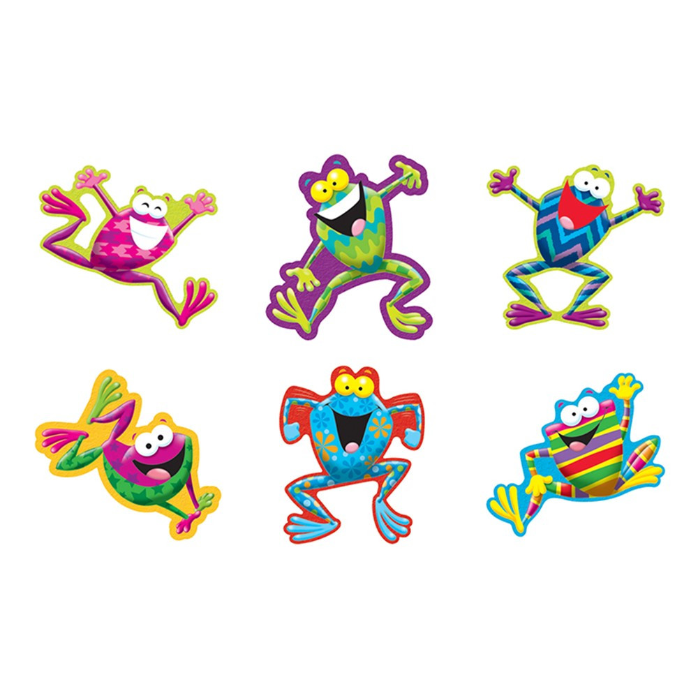 T-10969 - Frog Tastic Accents Standard Size Variety Pack in Accents