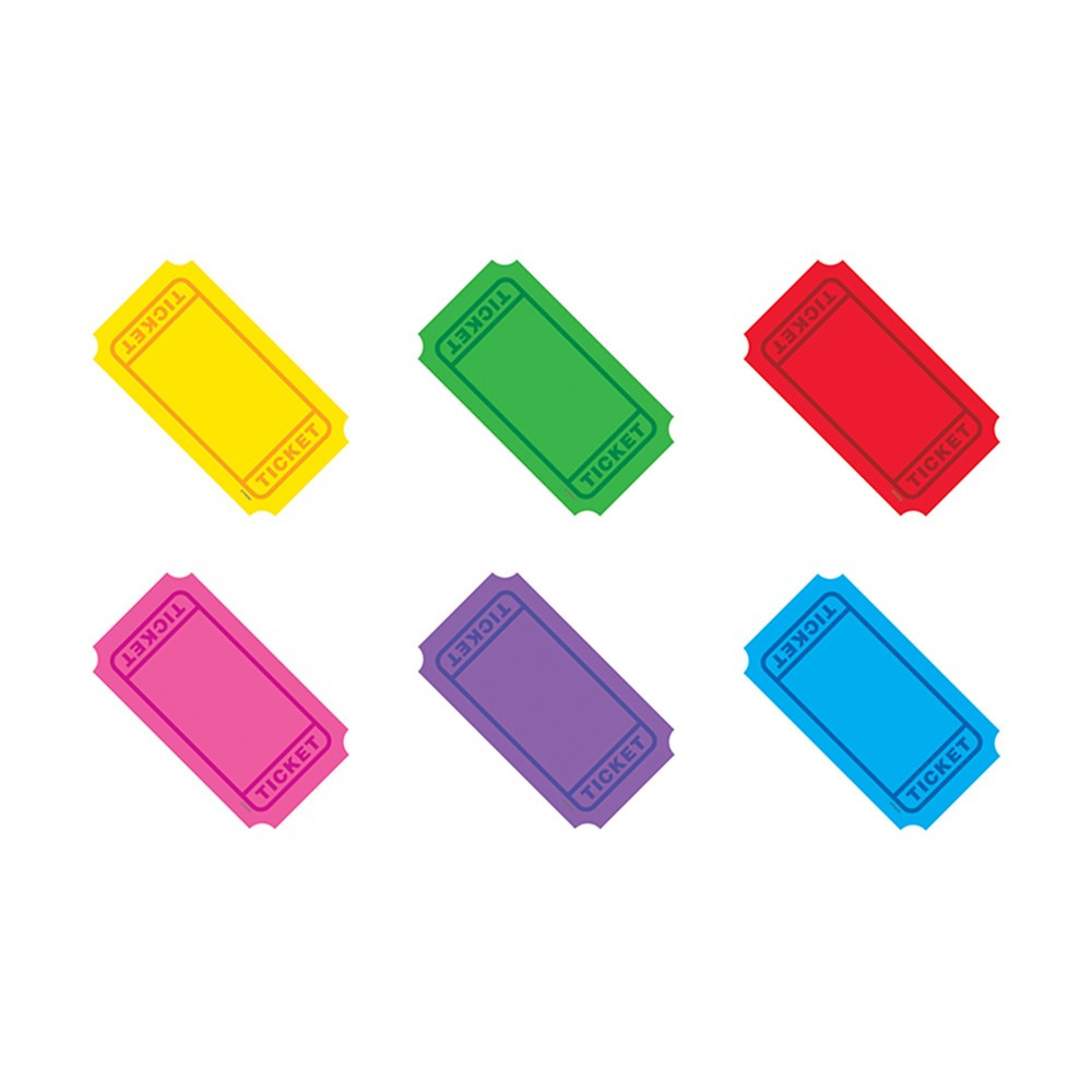 T-10971 - Winning Tickets Accents Standard Size Variety Pack in Accents
