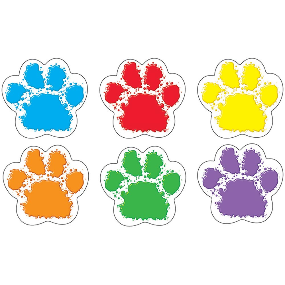 T-10982 - Paw Prints Classic Accents Variety Pack in Accents