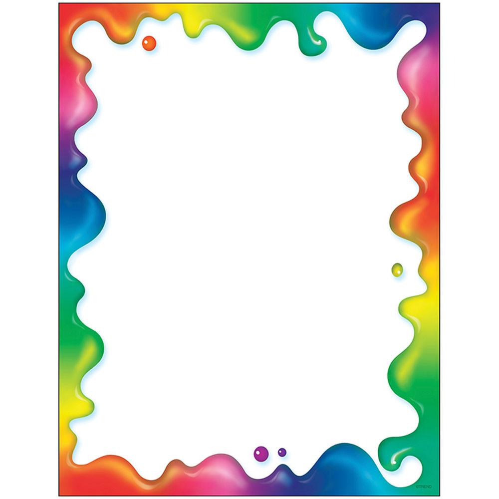 T-11409 - Rainbow Gel Paper in Design Paper/computer Paper