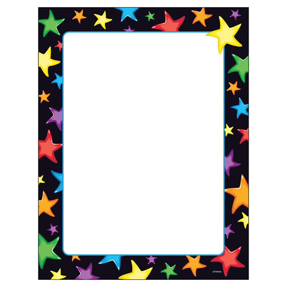 T-11413 - Gel Stars Paper in Design Paper/computer Paper