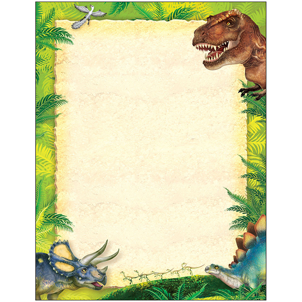 dinosaur writing paper Free, handwriting workbooks for children learn facts about dinosaurs while practicing your writing.