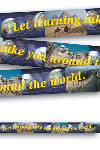 T-25009 - Banner Let Learning Take You 10Ft Horizontal in Banners