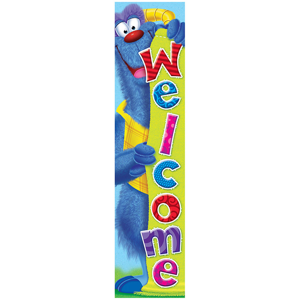 T-25060 - Furry Friends Welcome Banner in Banners