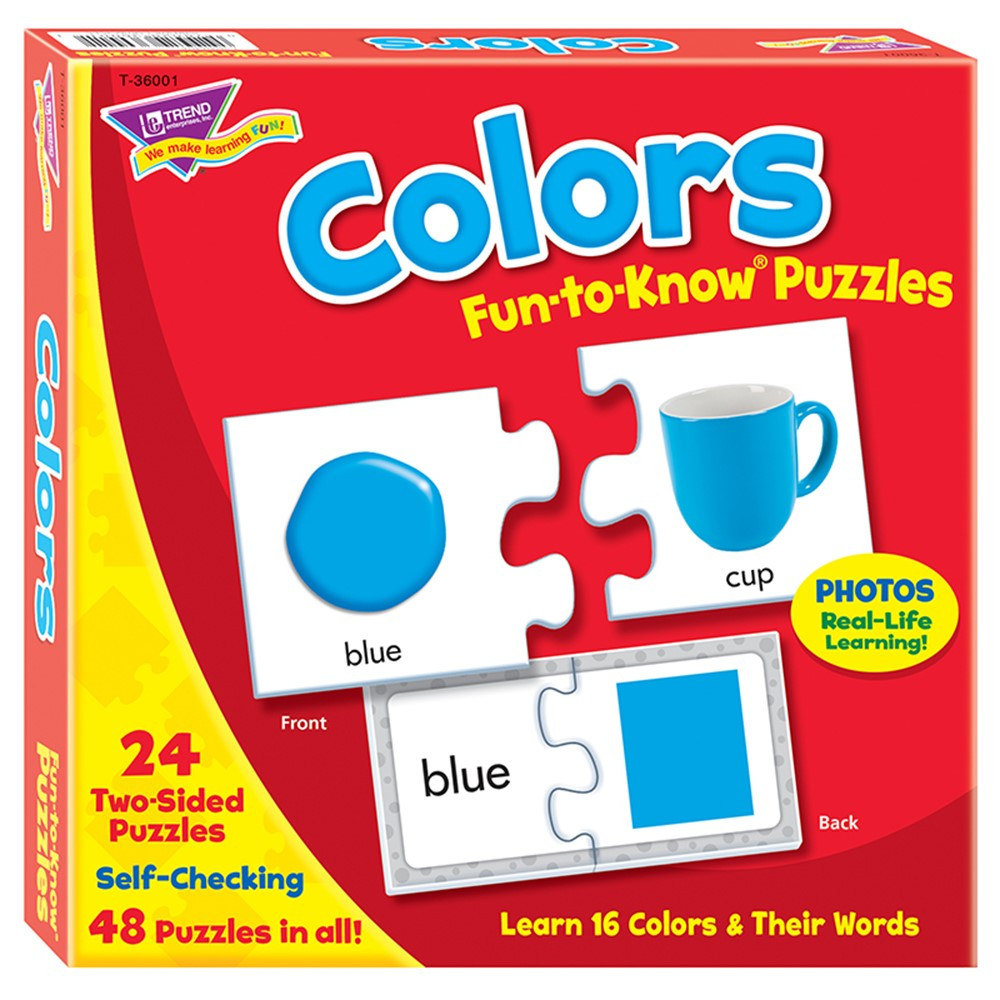 T-36001 - Puzzle Colors in Puzzles