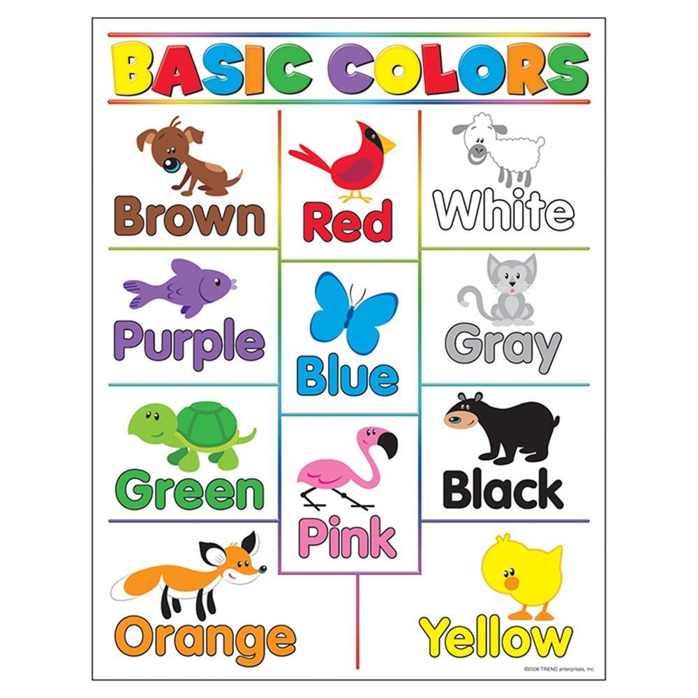 T 38208 L - Colors For Kindergarten